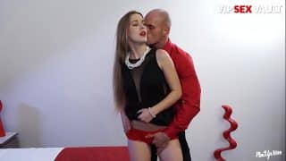 VIP SEX VAULT – After Party Hardcore Erotic Sex With Leny Evil And Alexis Crystal